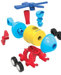 1-2-3 Build It!™ - Rocket-Train-Helicopter sold by Gifts for Little Hands