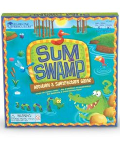 Sum Swamp™ Addition & Subtraction Game sold by Gifts for Little Hands