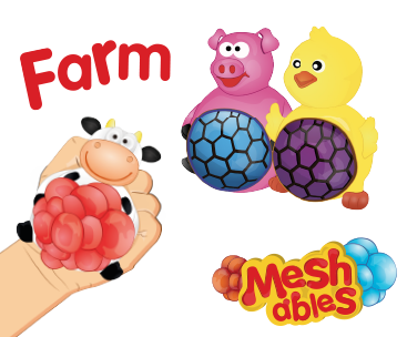 Farm Animal Meshables sold by Gifts for Little Hands