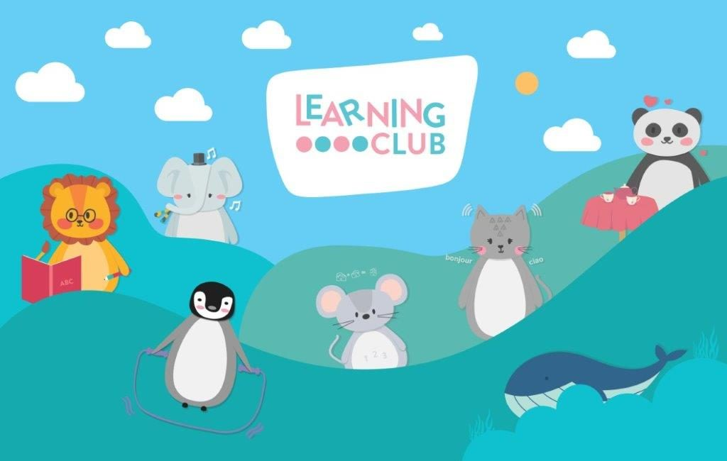Learning club Characters from gifts for little hands