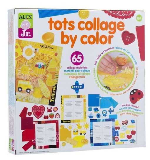 Tots Collage by Colour sold by Gifts for Little Hands