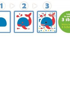 Dessineo Learn to Paint by Animal Stencils sold by Gifts for Little Hands