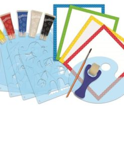 Dessineo Learn to Paint by Character Stencils sold by Gifts for Little Hands