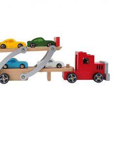 Legler Wooden Car Transporter Set sold by Gifts for Little Hands