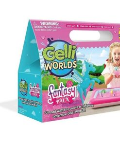 Gelli Worlds Fantasy Unicorns and Fairies Pack sold by Gifts for Little Hands