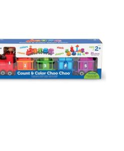 Count and Colour Choo Choo Train sold by Gifts for Little Hands