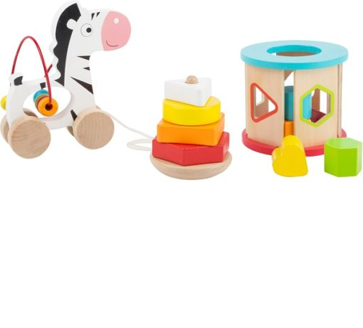 3-in-1 Wooden Motor Skills Toy Set sold by Gifts for Little Hands